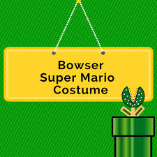 DIY Bowser Costume