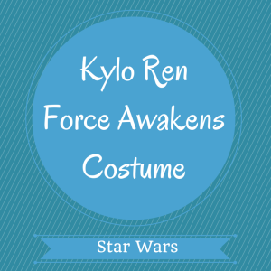 Kylo Ren Force Awakens Costume
