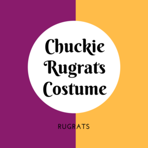 Chuckie Rugrats Costume